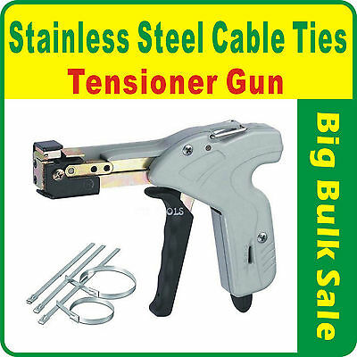 Stainless Steel Cable Ties Tensioner Gun Tools