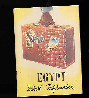 Egypt Tourist Information 1953 booklet (Egyptian Tourism Department)
