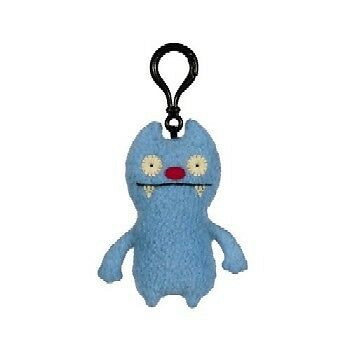 "Uglydoll Ugly Plush Doll Keychain 4"" Gato Deluxe"
