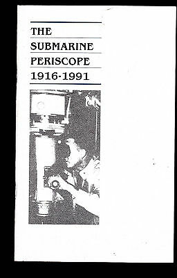The Submarine Periscope 1916-1991 (40 pages) Booklet