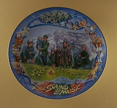 Classic Melodies from The Sound of Music ALPINE REFUGE Plate #4 Musical MIB