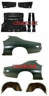 Body Kit Charger 72 Quarter Panel Trunk Drop Off Extension Outer Wheelhouse Amd