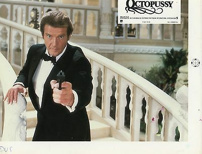 James Bond 007 Roger Moore Octopussy 1983 Vintage Photo Argentique Print Test 1