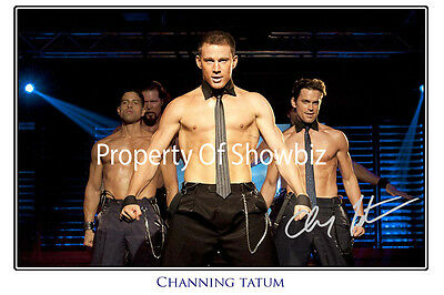 Channing Tatum - *magic Mike* Large Autographed Signed Photo Poster Print