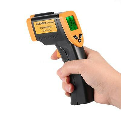 Non-Contact IR Infrared Laser Digital Thermometer Temperature Gun 12:1 -50~+380℃