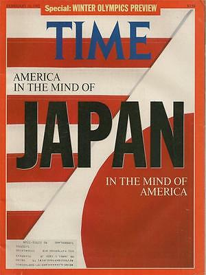 TIME MAGAZINE ~ FEBRUARY 10 1992 ~ 2/10/92 JAPAN Special Winter Olympics Preview