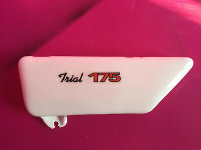 Yamaha TY175 TY 125 Trials Genuine Style side panel white