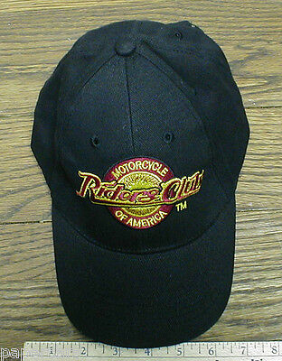 Motorcycle Riders Club of America Cap Hat small medium mens youth womens NWOT