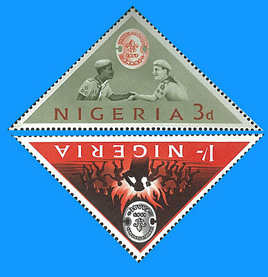 Nigeria Stamp, 1963 WWF6301 Scout, Baden Powell, Important People