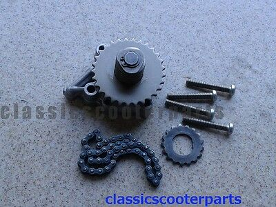 Honda 1985 CB450SC CB450 Nighthawk oil pump assembly chain h85-cb450sc-007