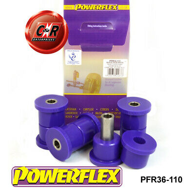 Mazda MX-5 Mk2 (98-05) Powerflex Rear Lower Inner Wishbone Bushes PFR36-110