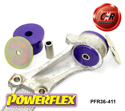 Mazda RX8 Powerflex Rear Diff Carrier Bracket Bushes PFR36-411
