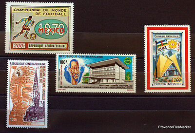 Centreafrique   Timbres Divers  Obliteres  Ad16