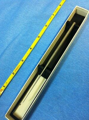 "NEW STORZ 6.25"" Ear Knife Straight Shaft, Strong Right Curve Hough Stainless"