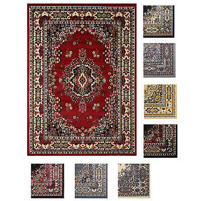 """Large Traditional 8x11 Oriental Area Rug Persien Style Carpet -Approx 7'8""""x10'8"""""""