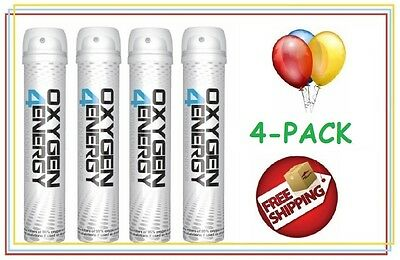 4 Cans of Oxygen4Energy and a Free Wholesale Coupon for future cans included!