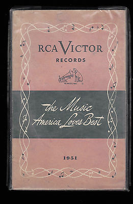1951 RCA Victor Records Catalog (The Music America Loves Best)