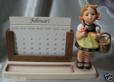 M.i.hummel 1995 Sister Perpetual Calendar Signed Hum 788/b M In Box Discounted!!