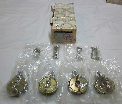 Baldwin 5075-264 Adaptor Set 4/box SATIN CHROME BRAND NEW in box!!