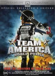 TEAM AMERICA WORLD POLICE DVD SPECIAL COLLECTORS EDITION ANIMATION BRAND NEW
