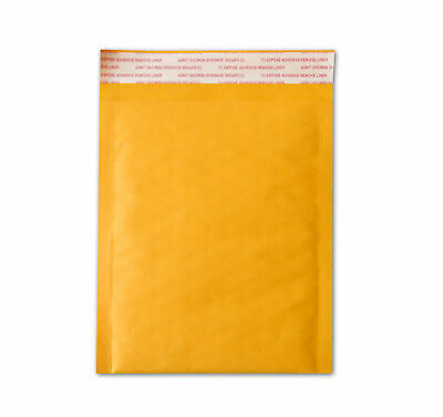 500 #000 Kraft Bubble Padded Envelopes Mailers 4 X 8 by UPS Ground