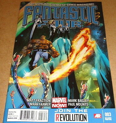 Fantastic Four # 3 - 2Nd Print - Marvel Comics