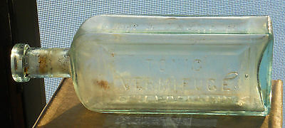 dr jaynes tonic vermifuge philadelphia bottle 1890's sels cheap