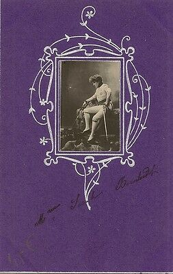 Carte Postale Illustrateur Reutlinger Celebrite Sarah Bernhardt L'aiglon