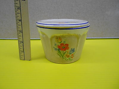 Vintage Universal Ovenproof Small Custard Dish with Lid  UNIQUE!