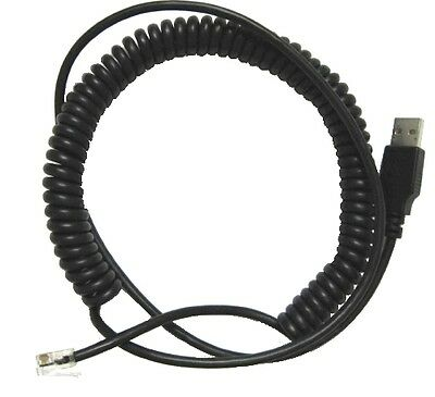 PC USB to Verifone 1000SE PIN pad Cable 6ft PINpad Cable