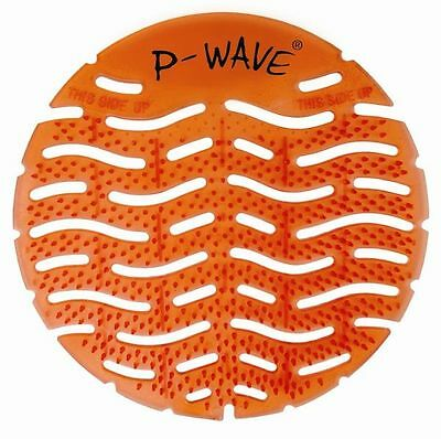P-Wave Urinal Mat Urinal Deodoriser Mango 10 Pack Urinal Screen Toilet