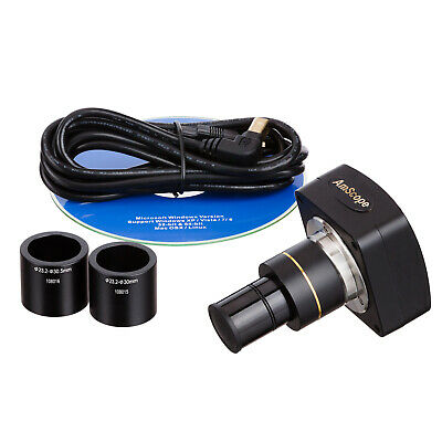 AmScope MU1000 10MP USB2.0 Microscope Digital Camera + Software