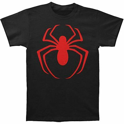 Authentic THE AMAZING SPIDER-MAN Vintage Red Logo T-Shirt S M L XL XXL NEW