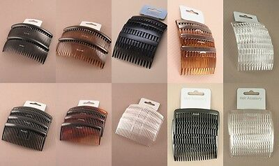 Pack Of 12 Cards Of Hair Combs, Everyday, Hair Dresser, Salon