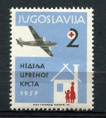 Yugoslavia 1957 SG#843 Obligatory Tax, Red Cross MNH #A33184