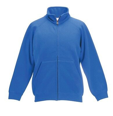 FRUIT OF THE LOOM - Sweatjacke / Sweat Jacket - kids - kinder - NEU