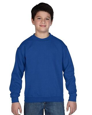 GILDAN - Sweatshirt / Kids Blend Crew Neck Sweat - kinder - NEU