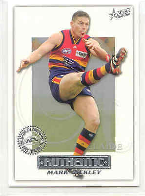 2001 Select AFL Authentic 151 Mark Bickley-Adelaide