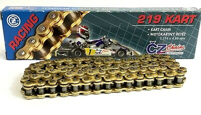 Cz 219 Kart Chain All Sizes 98 Link -116 Link - Free Post - Rotax Tkm X30 Cadet