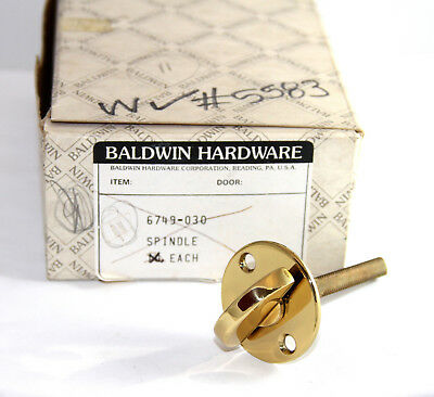Baldwin 6749.030 Spindle (11) POLISHED BRASS NEW in box!!