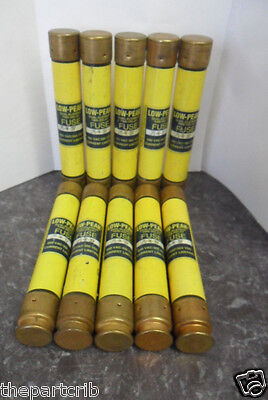 Nice Lot Bussmann LPS-RK-3SP 3 Amp Fuses Low Peak 600V Class RK1 600 Volts
