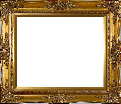 """Imperial Gold with Gold Liner 36"""" x 24"""" Picture Frame"""
