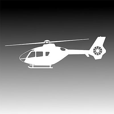 EC 135 Helicopter Profile Decal Eurocopter EC135 Mechanic Sticker