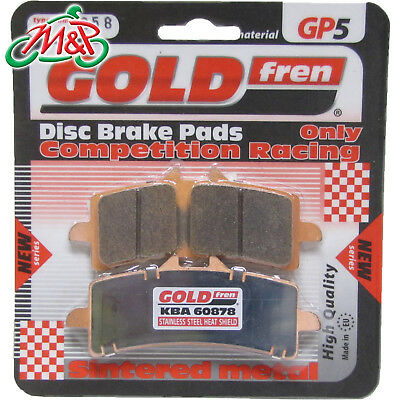 Sintered For Ducati 1098 R Front R//H Goldfren GP5 2008-2009 Quality Brake Pad