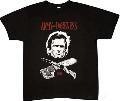 ARMY OF DARKNESS:Ash Crossbones:T-shirt NEW:MEDIUM ONLY