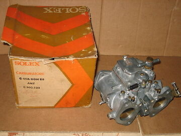 Carburateur Solex  Neuf D Origine Alfa Romeo 2000