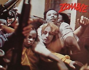 DAWN OF THE DEAD ZOMBIE - Lobby Cards Set - VERY RARE - George A Romero - HORROR