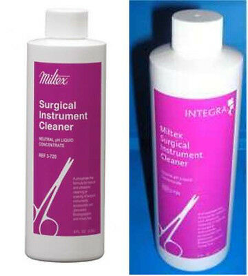 MILTEX 3-720 Surgical Instrument Cleaner Concentrate Solution 8 Oz / 32 Gallons
