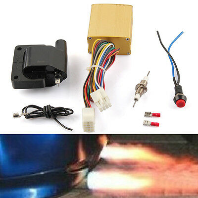 Single Complete Exhaust Flame Thrower Kit