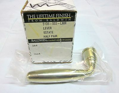 Baldwin 5106.003.LMR One Lever Handle for Faucet Lifetime POLISHED BRASS NEW!!